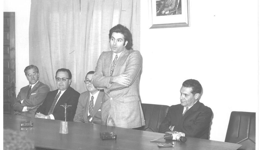 Luis Mamerto López-Tapia, en 1969   Fondo Local de la Biblioteca Pública Arroyo de la Miel, Benalmádena