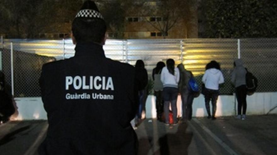 Redada prostitución Camp Nou Guardia Urbana