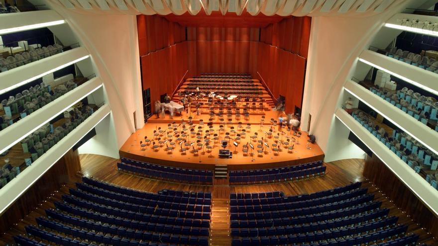 Vista del Palau de les Arts