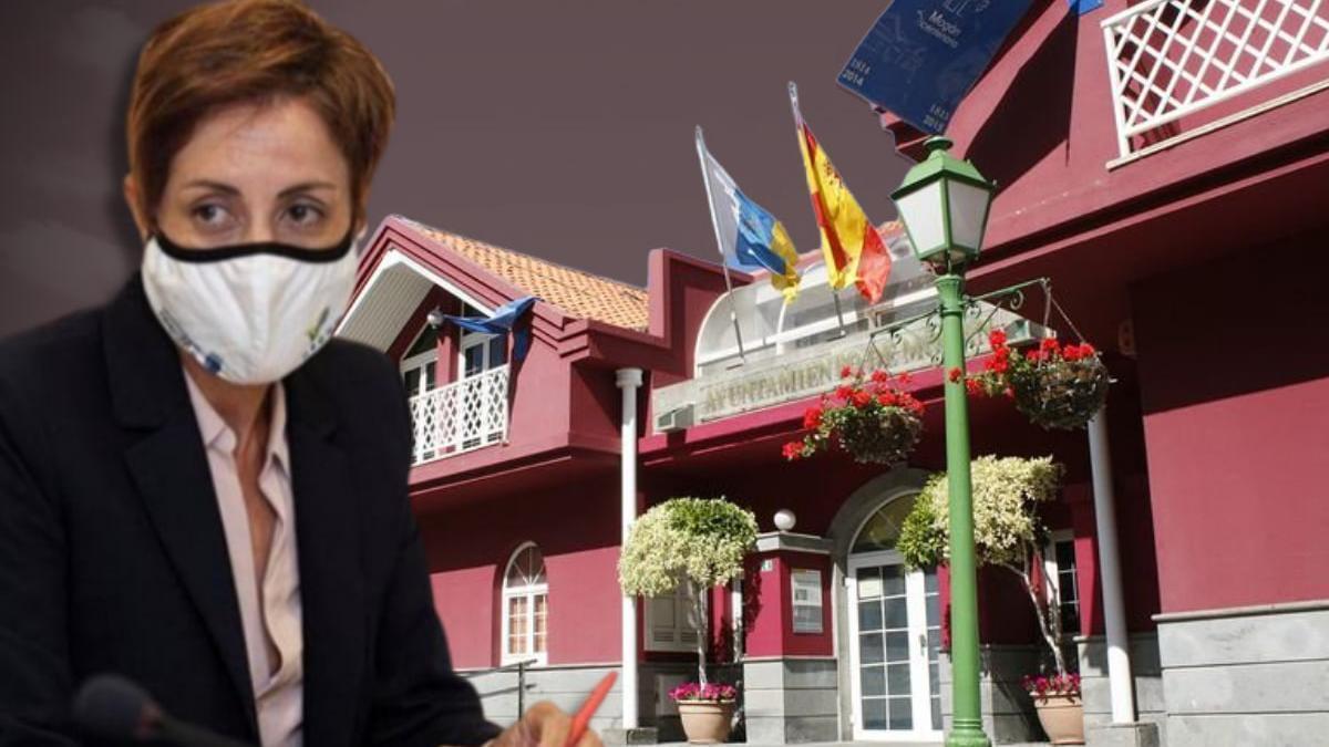 Onalia Bueno, alcaldesa de Mogán