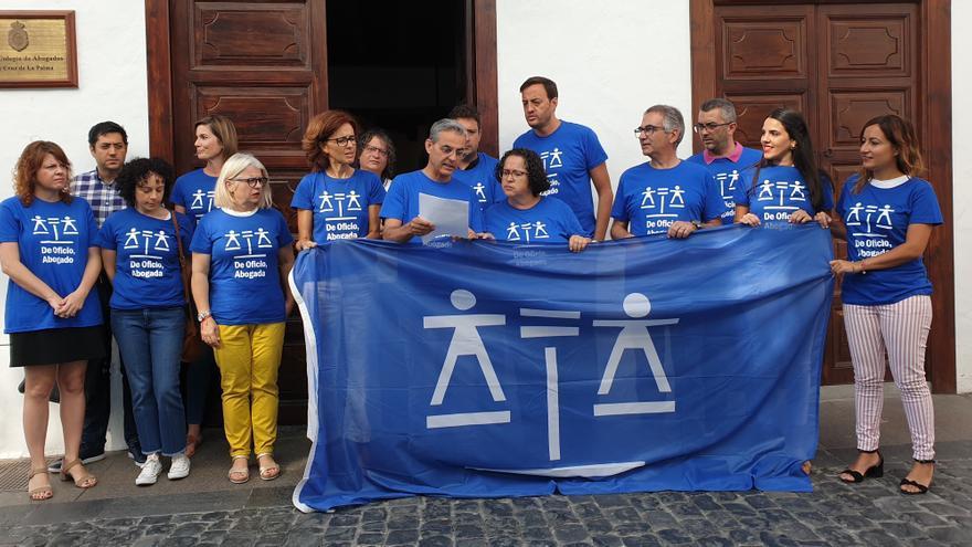 Acto celebrado en el Colegio de Abogados de Santa Cruz de La Palma.
