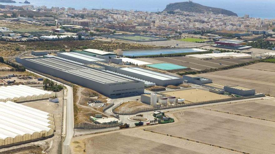 Planta de Acuamed en Águilas (Murcia).