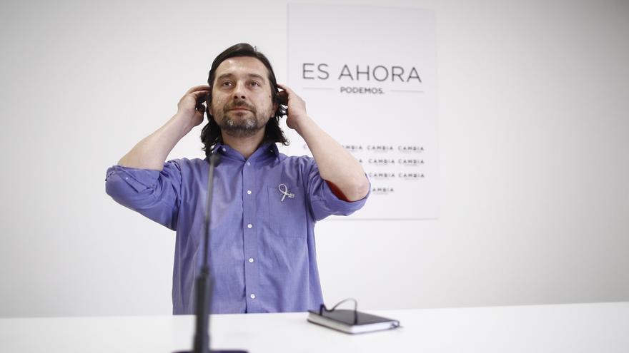 Mayoral (Podemos) rechaza comentar el 'escrache' a Felipe González: Cada vez tengo menos opiniones sobre él