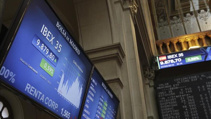 La bolsa española se acerca a los 10.100 puntos con una subida del 2,25 por ciento