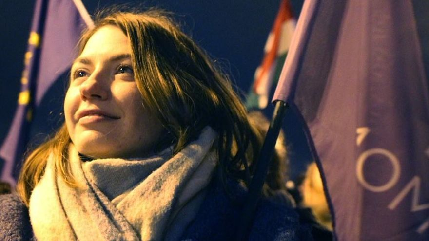 Anna Donath, vicepresidenta del partido húngaro Movimiento Momentum.