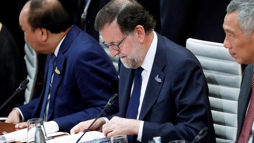 Rajoy pone a España de ejemplo de crecimiento por reformas y libre comercio