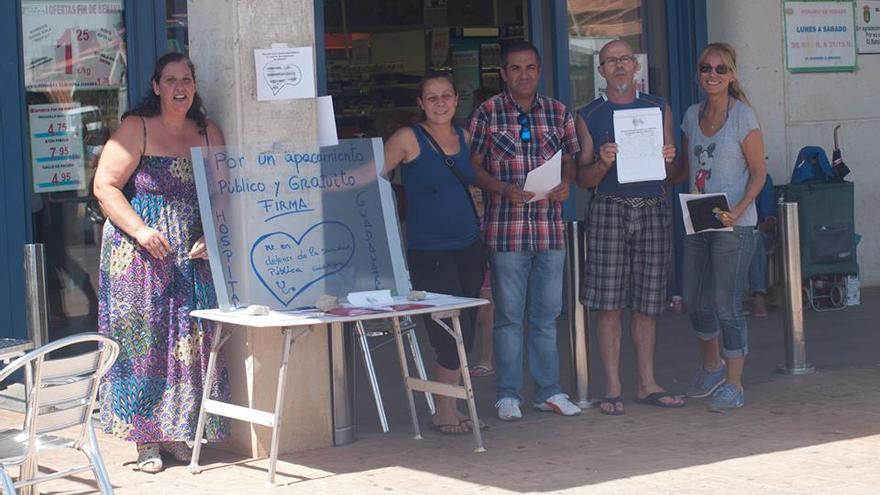 Petición de un párking gratuito en el Hospital de Guadalajara