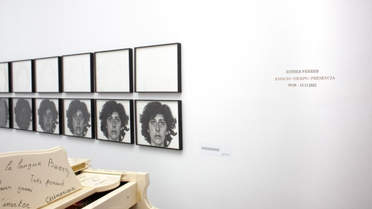 Exposición de Esther Ferrer