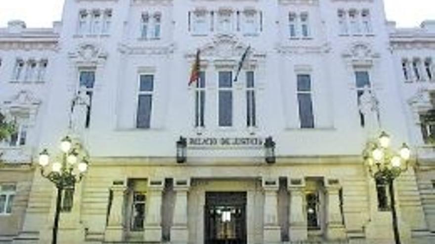 Archivo - Sede del TSXG en A Coruña