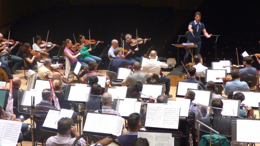 Ensayo de la Orquesta de Valencia