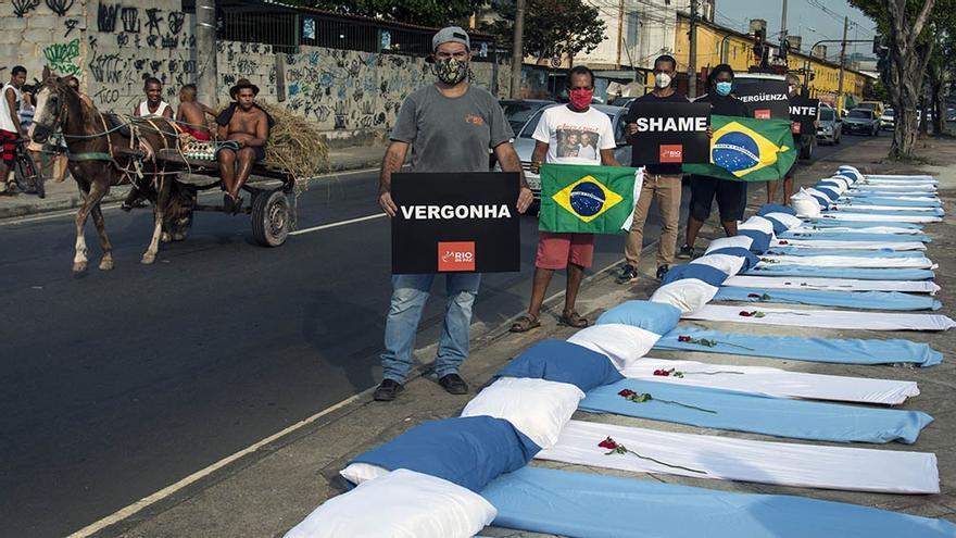 La tragedia del Covid en Brasil: advierten que hubo más muertes que nacimientos en la primera semana de abril