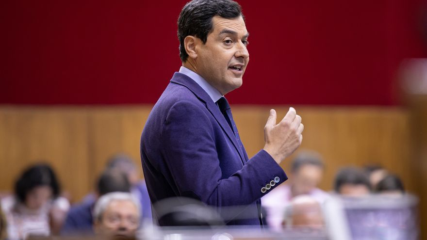 """Moreno aconseja a Susana Díaz que encuentre su sitio en la oposición en vez de estar """"insultando"""" todos los días a Vox"""