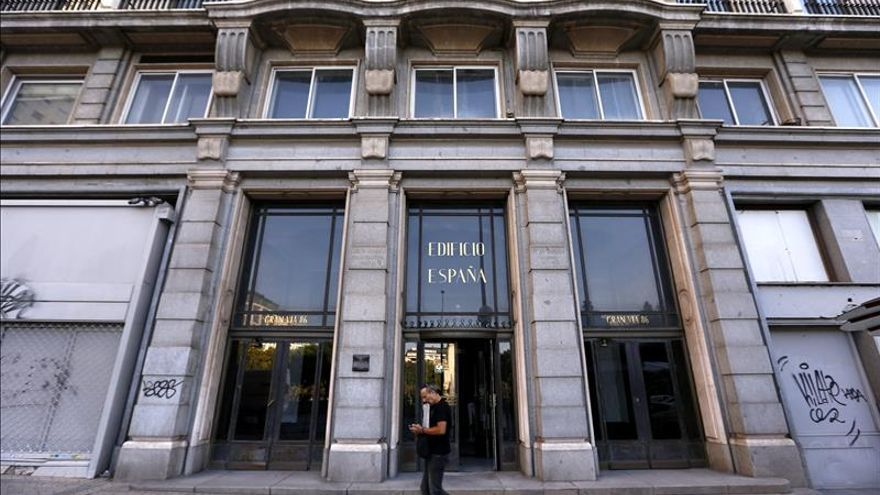 """Wanda admite que está """"reconsiderando por completo"""" las obras del Edificio España de Madrid"""