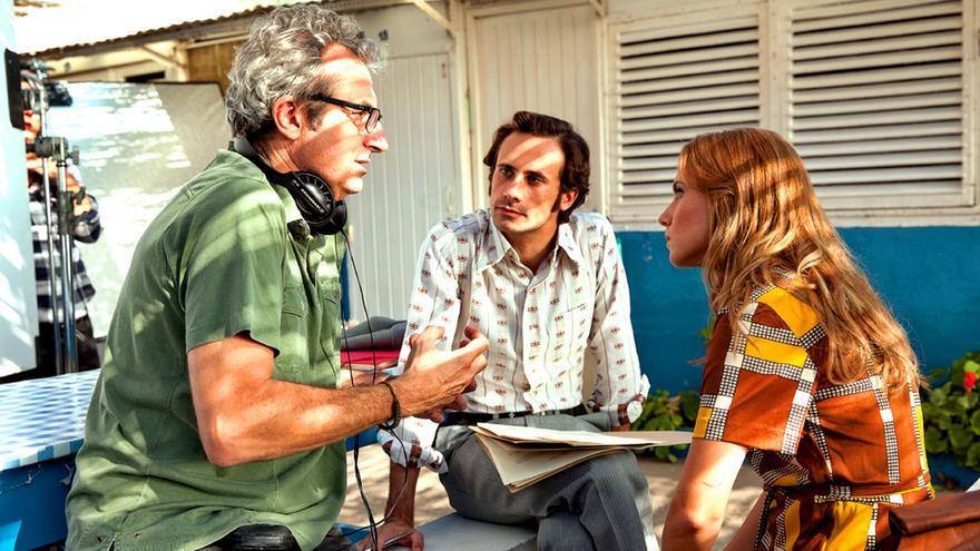 Mariano Barroso debate con Oriol Pla y Aura Garrido el guion de 'El día de mañana'