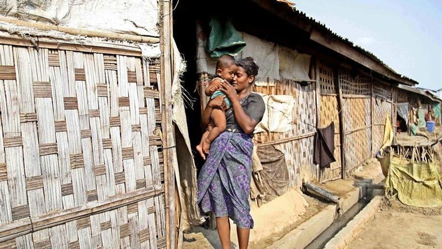HRW identifica 430 edificios destruidos por la violencia sectaria en Birmania