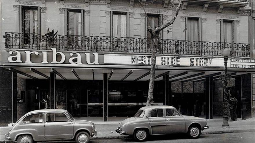 El cine Aribau en 1962.