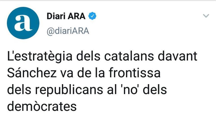 Estrategia catalanes ara