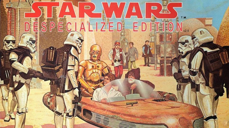 Harmy ha restaurado la trilogía original de 'Star Wars' junto con otros fans de la saga