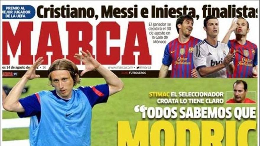 De las portadas del día (14/08/2012) #12