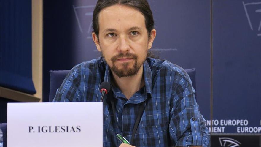 """Pablo Iglesias se define como """"candidato del sur"""" para el cambio político en la UE. \ Efe"""