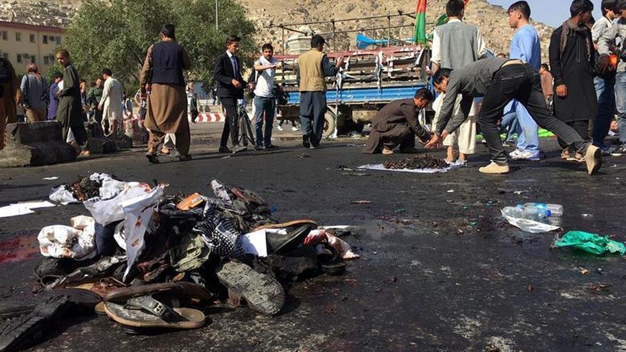 """Gobierno español muestra su """"enérgica condena"""" por el atentado en Kabul"""