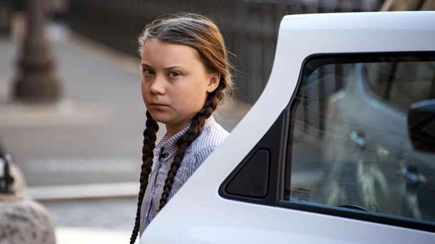 Greta Thunberg Facebook: Greta Thunberg En Roma: Los Líderes Me Felicitan Pero No
