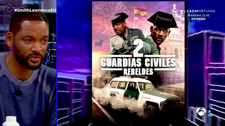 """'El Hormiguero' convirtió 'Dos policías rebeldes' en Guardias Civiles y Mossos, y Will Smith escogió: """"Prefiero sin tricornio"""""""