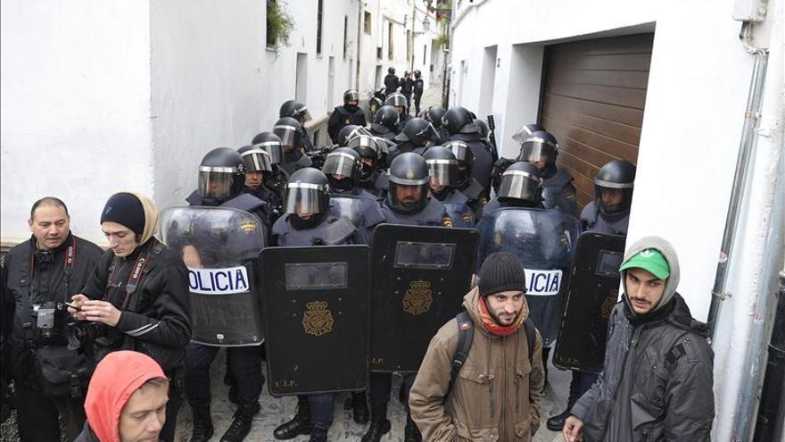 Quieren que la Policía se abstenga de actuar en los lanzamientos de vivienda