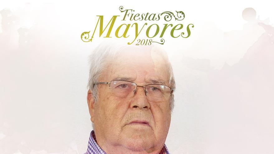Esteban Francisco Hernández, en el cartel del pregón festivo de 2018