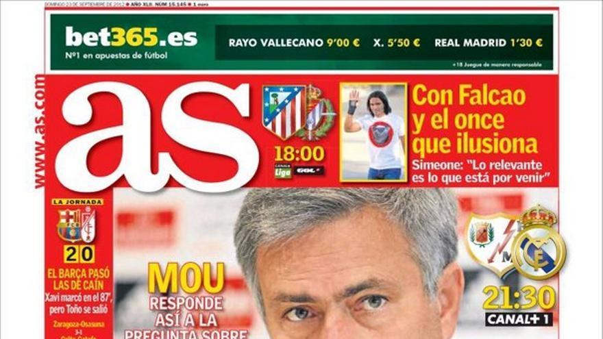 De las portadas del día (23/09/2012) #11