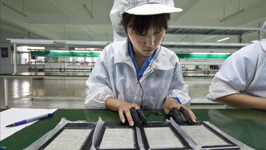 La industria china vuelve a mostrar expansión en abril