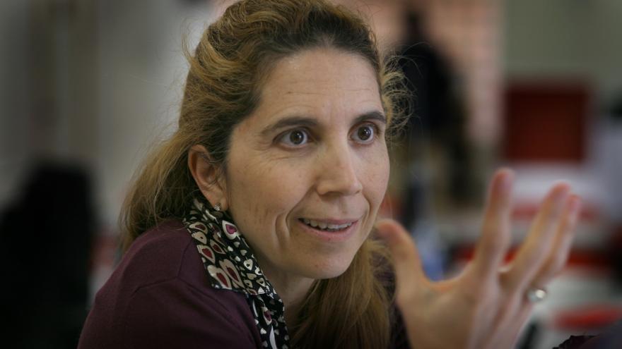 Nuria Oliver, directora de Investigación en Ciencias de Datos de Vodafone, en Valencia.