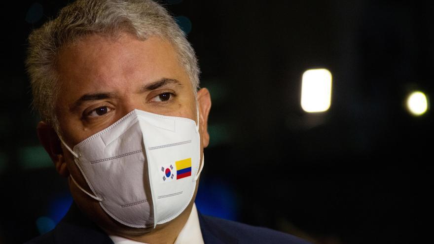 El presidente de Colombia, Iván Duque. EFE/EPA/JEON HEON-KYUN