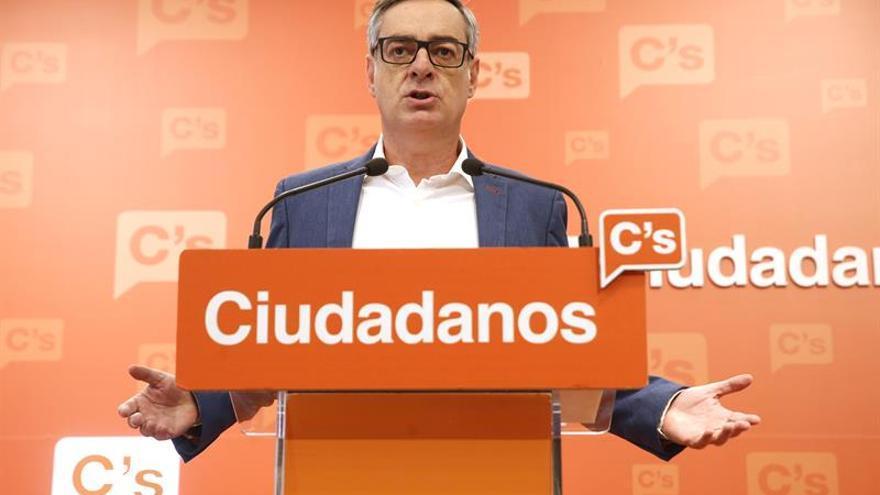 Ciudadanos insiste en que si es imputado el presidente de Murcia deberá dimitir