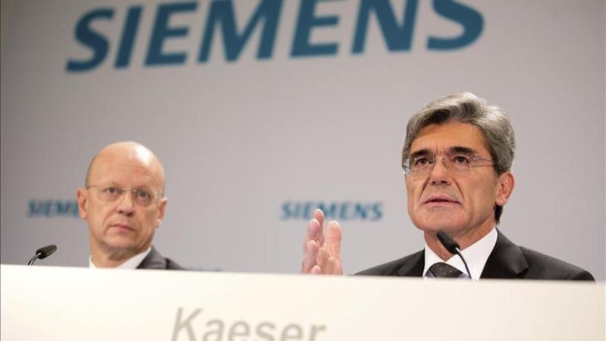 Siemens ganó 4.409 millones de euros en su año fiscal 2013, un 3 por ciento más