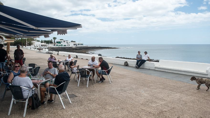 El interior de los restaurantes en Gran Canaria y Lanzarote cierra sus puertas