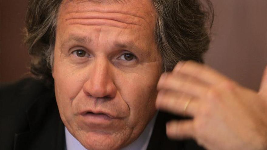 Almagro afirma que se deben limpiar las manchas históricas que pueda tener la OEA