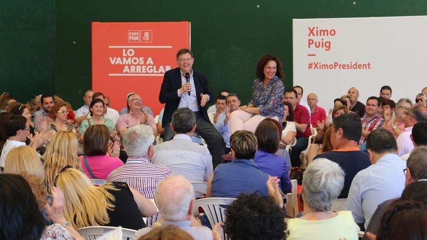 """Ximo Puig rechaza """"satanizar"""" a ningún partido y dice que habrá cambio en la Comunidad Valenciana """"sin ninguna duda"""""""