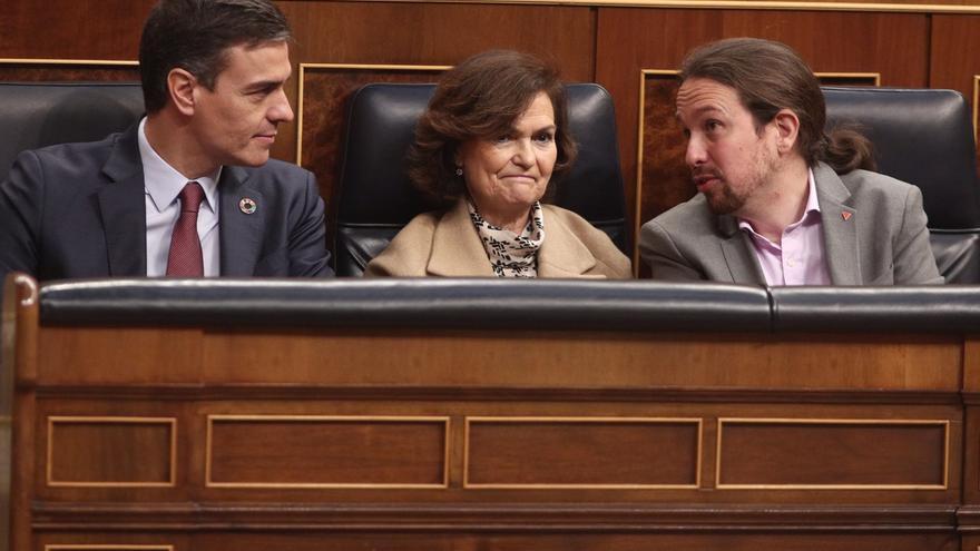 El Congreso completa los preparativos para la primera sesión de control al Gobierno de coalición, el próximo miércoles