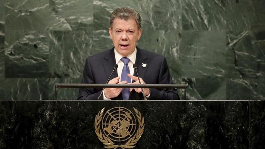 Colombia trae un mensaje de paz a la ONU