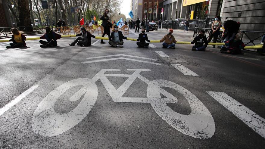 Protesta en Madrid para reclamar una Asamblea Ciudadana por el Clima
