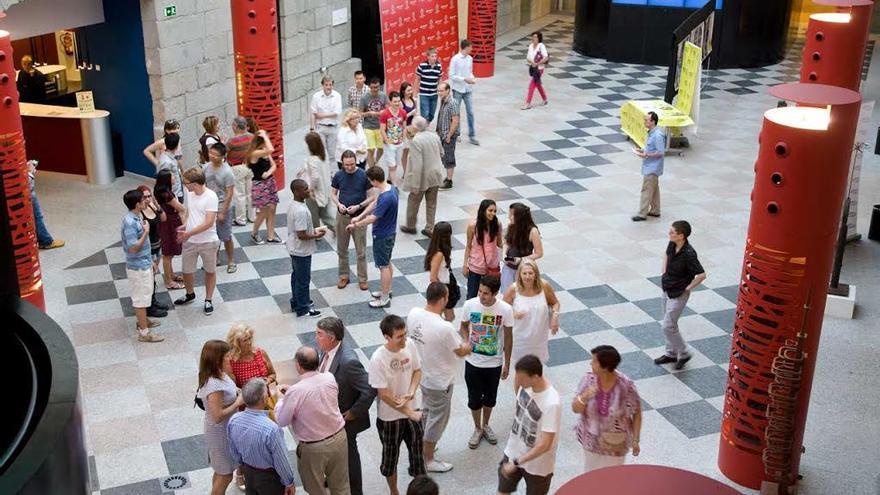 Varios de los participantes en la edición pasada de los cursos de verano de El Escorial. / Foto: UCM