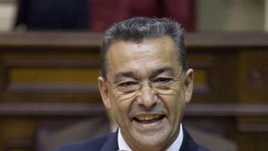 Paulino Rivero, presidente del Gobierno.