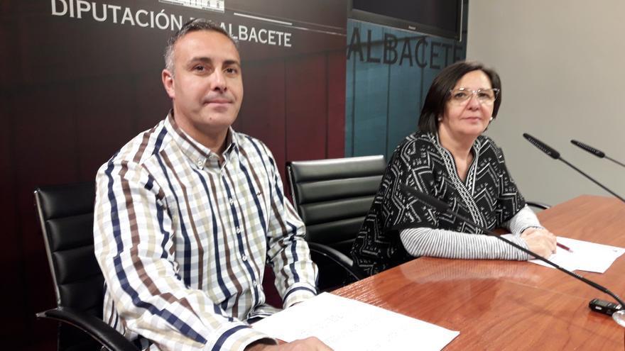 Ganemos-IU en la Diputación de Albacete, en rueda de prensa