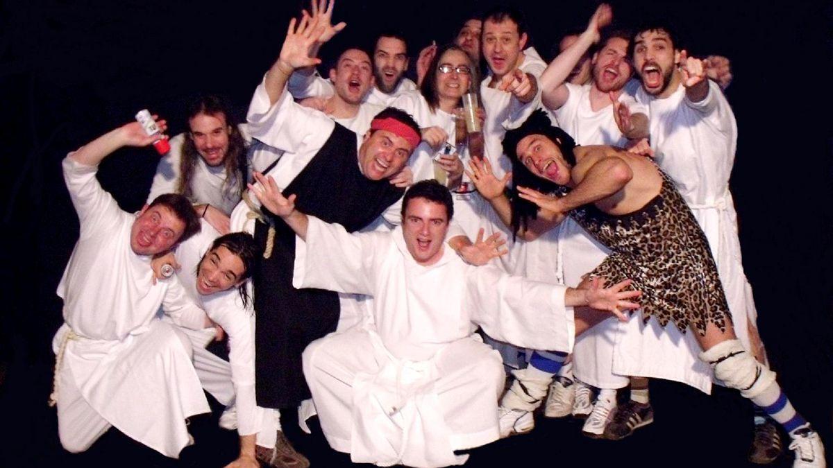 El grupo musical Los Inhumanos.