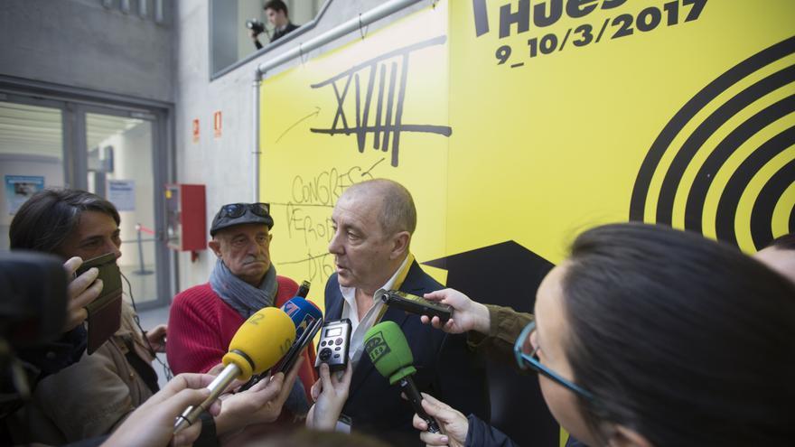 El presidente de la APA, José  Luis Trasobares.