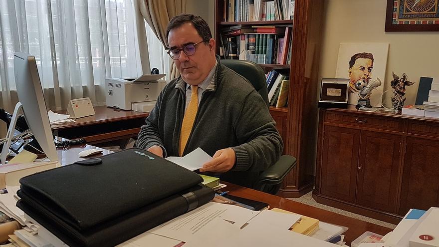 El rector de la Universidad Pablo de Olavide