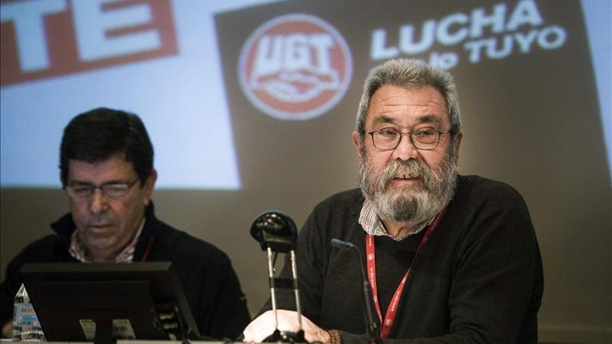 Cándido Méndez anuncia públicamente que no se presentará en ningún caso a la reelección