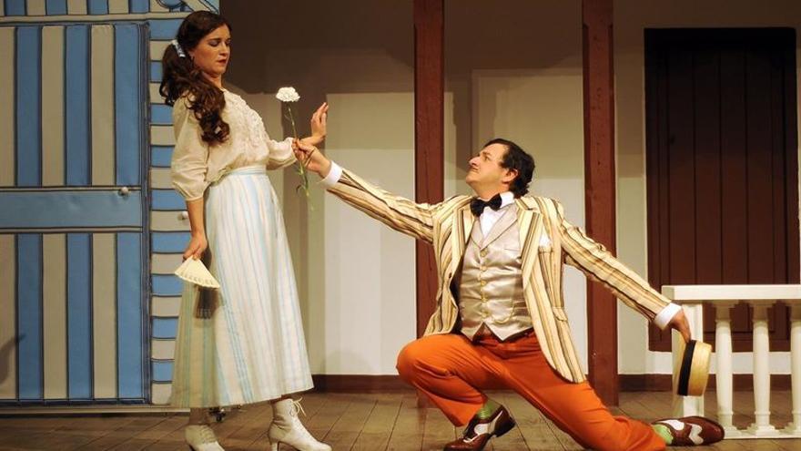 Representación en el Teatro de Rojas