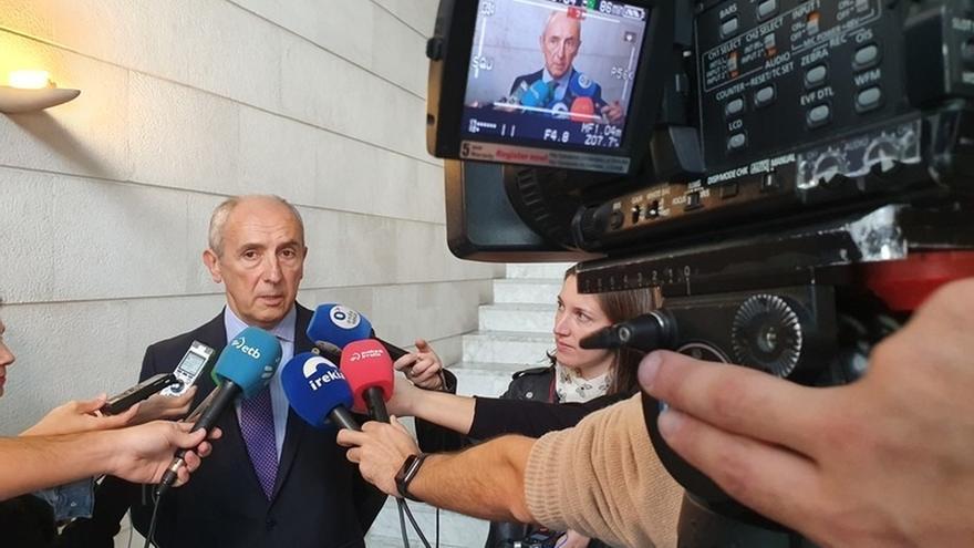 """Erkoreka dice que la propuesta sobre presos de Gobierno Vasco """"no es nueva"""" y que ya se hizo a Rajoy y al propio Sánchez"""